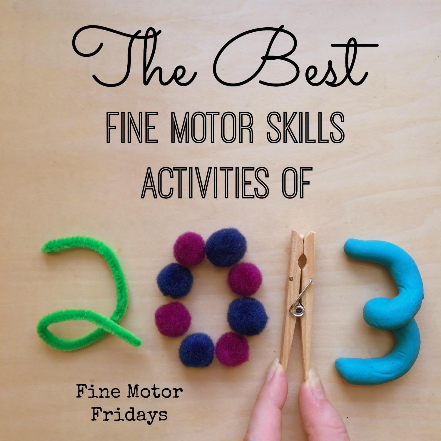motor skills Make fine motor skills practice super easy with my absolute favorite list of playtime ideas and supplies plus, grab a printable to help you get started.