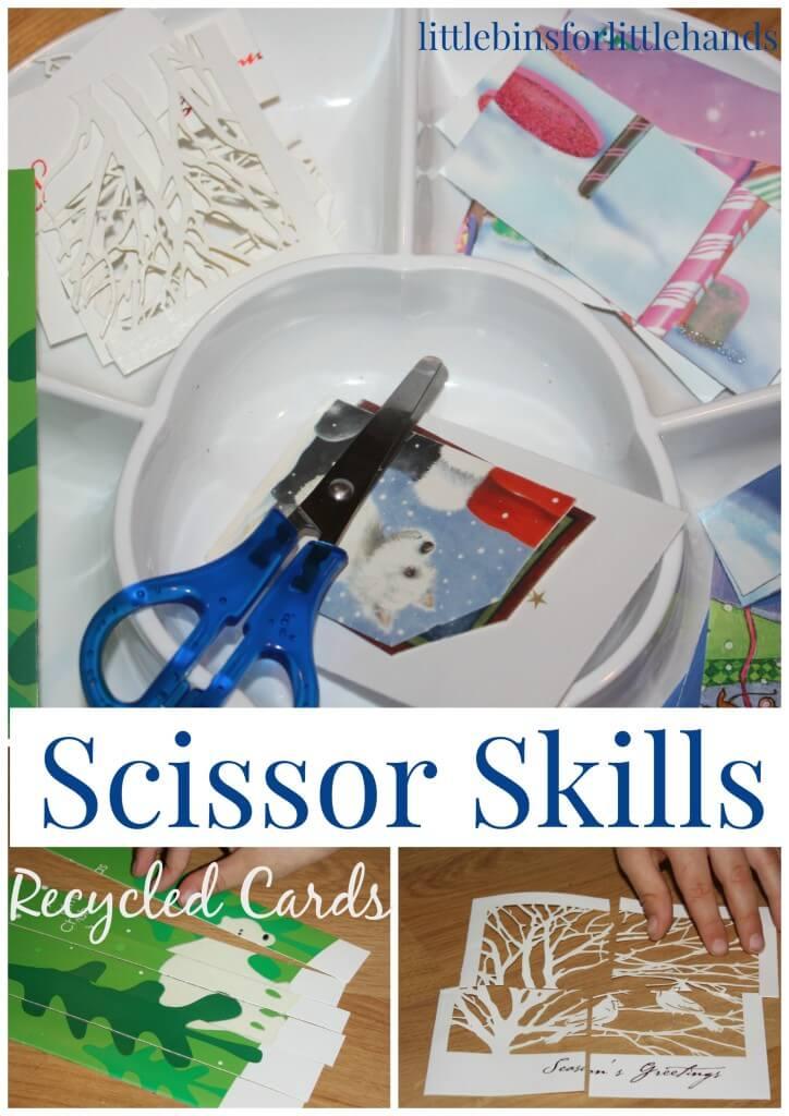 Christmas Fine Motor Skills Scissor Skills Cutting Practice
