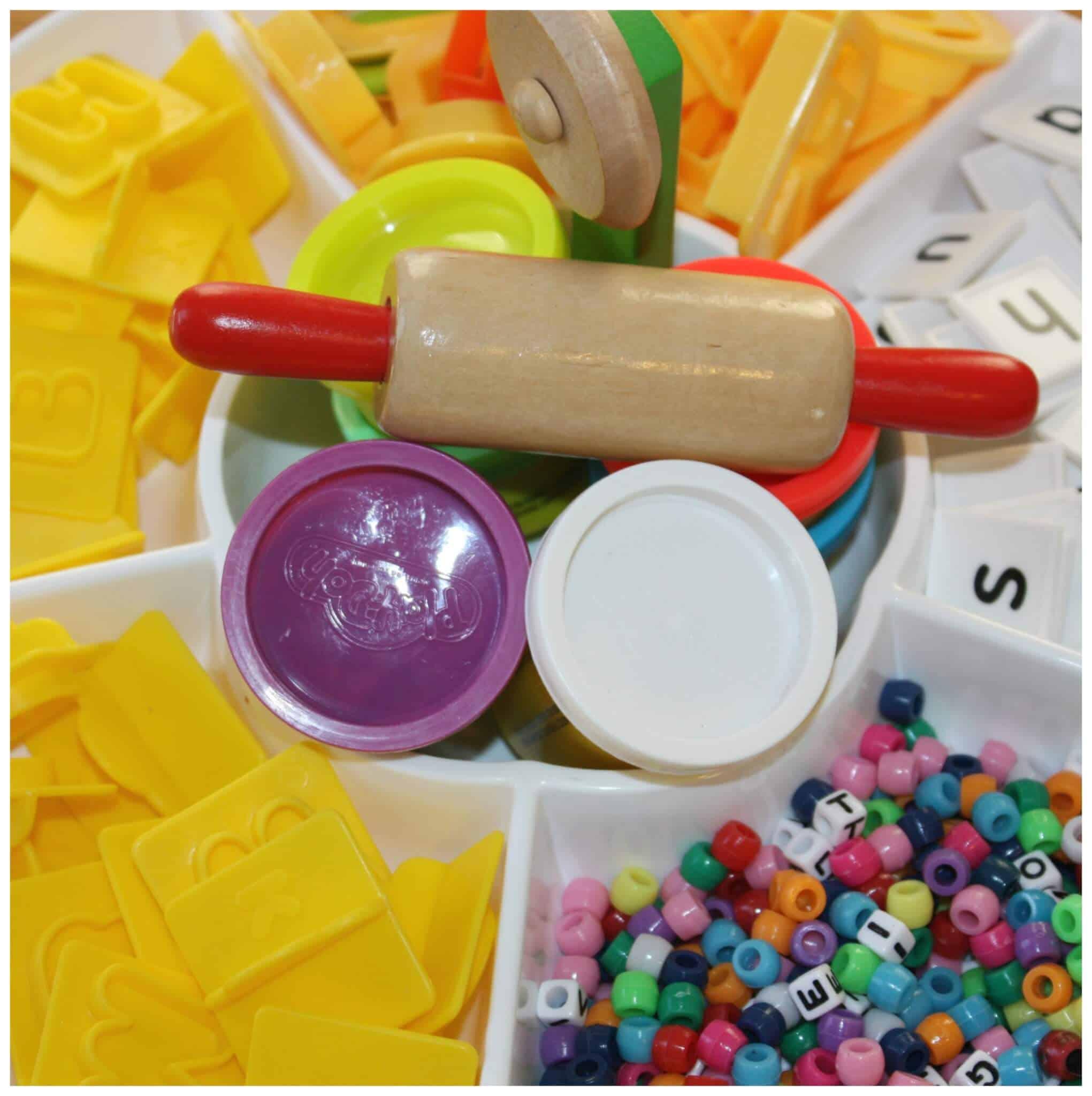 10 quick and simple fine motor alphabet activities for Playdough fine motor skills