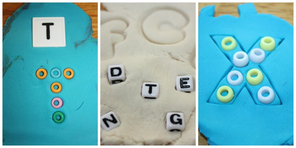alphabet playdough ideas