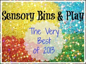 best of 2013 sensory bins and play