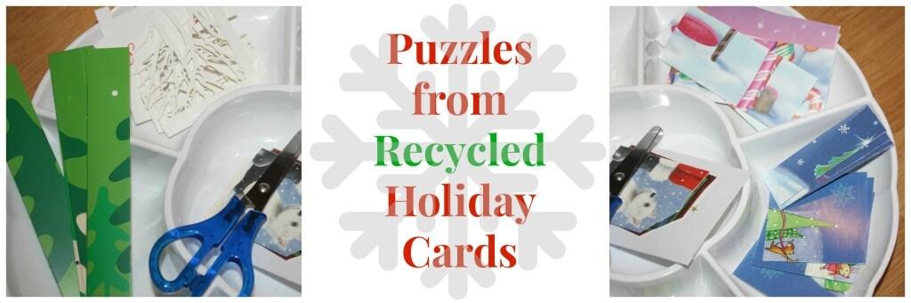 christmas fine motor skills card set up text