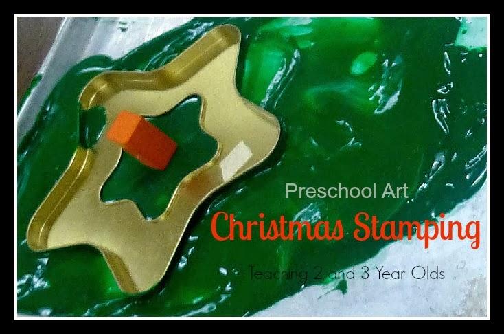 christmas stamping header