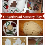 gingerbread sensory play
