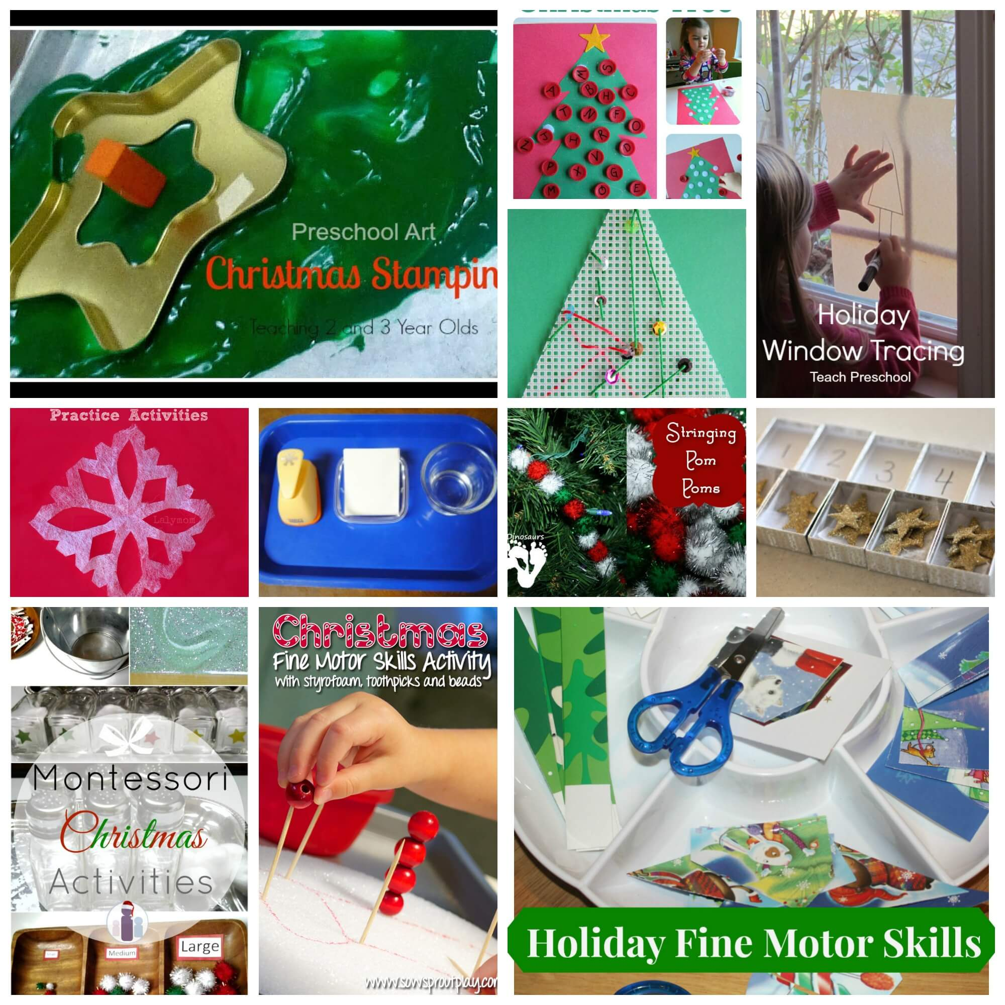 holiday fine motor round up cover