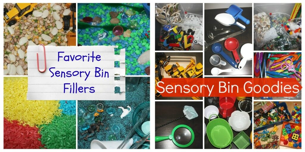 sensory bin resources 2013