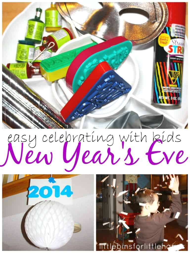 New Year Activities for New Years Eve with kids