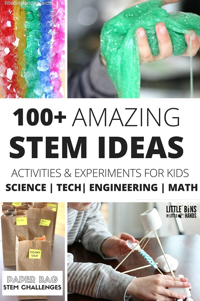science stem activities experiments preschool worksheets math engineering technology fun cool slime simple activity littlebinsforlittlehands preschoolers grade scientist halloween kid