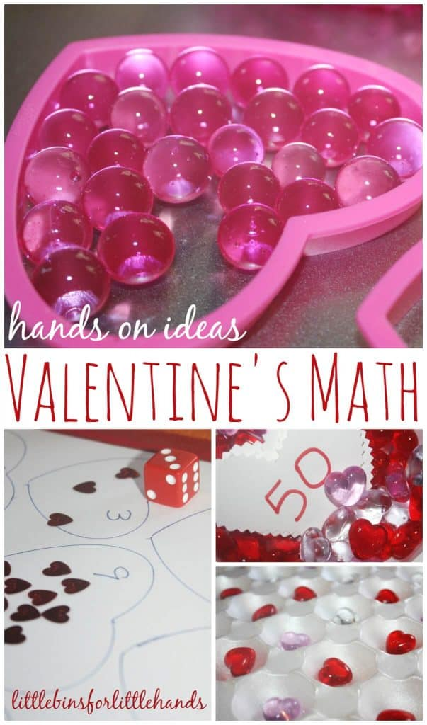 Valentines Math Early Learning Ideas