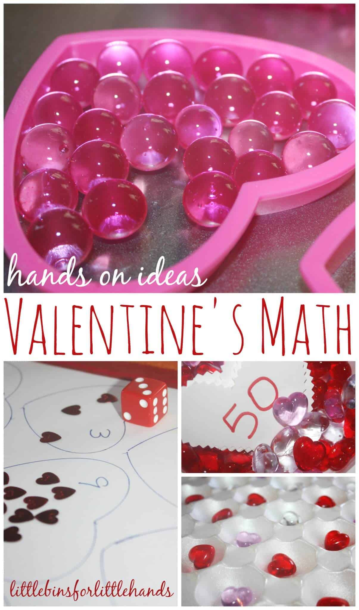 Valentines Early Learning Math Activities Preschool