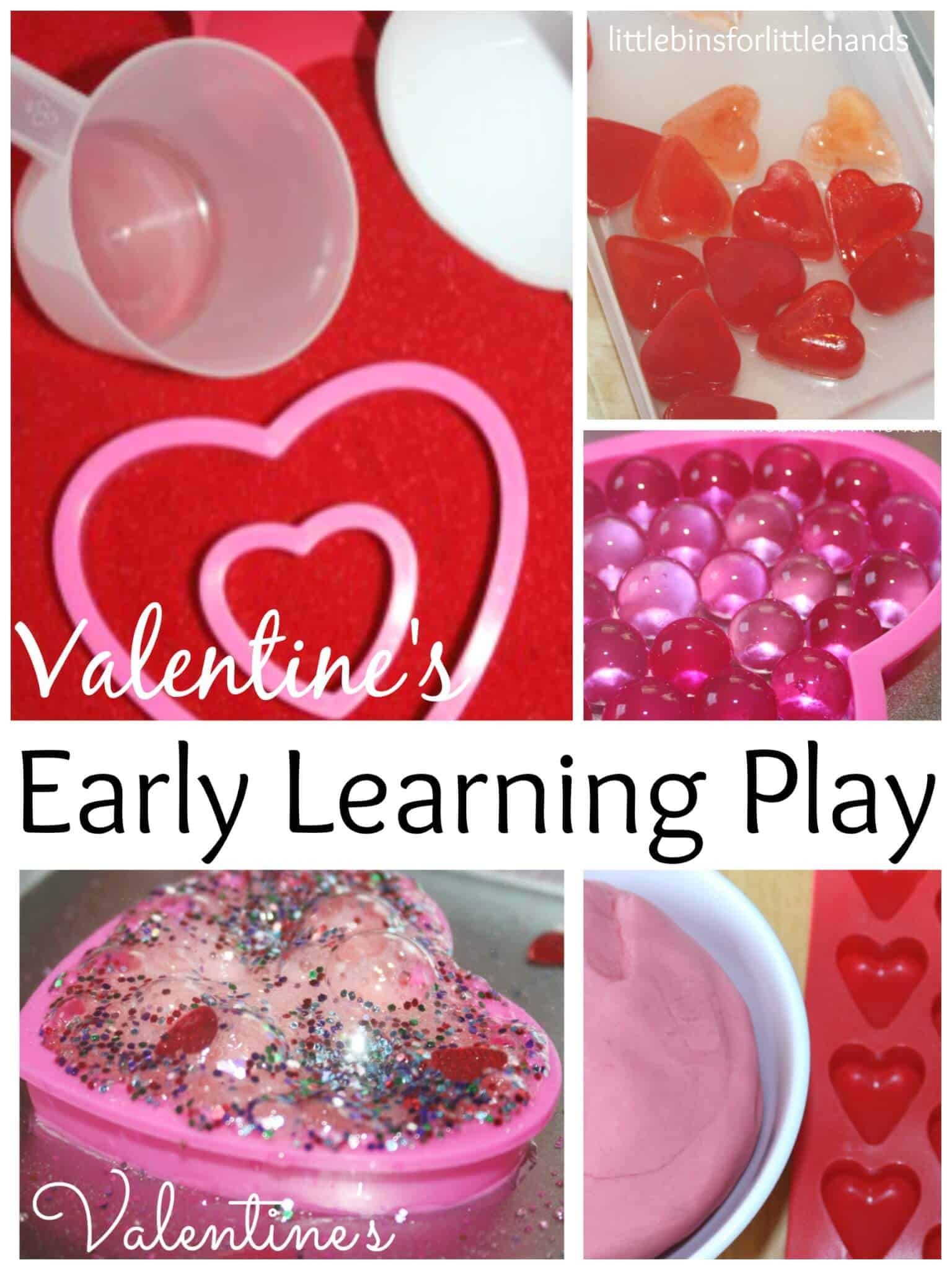 Valentines Preschool Activities for Playful Learning