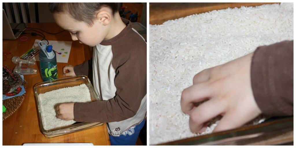 confetti fine motor skills sensory play