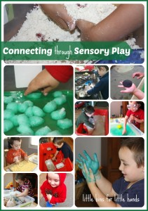 connecting through sensory play