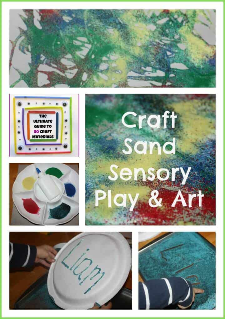 craft sand activity