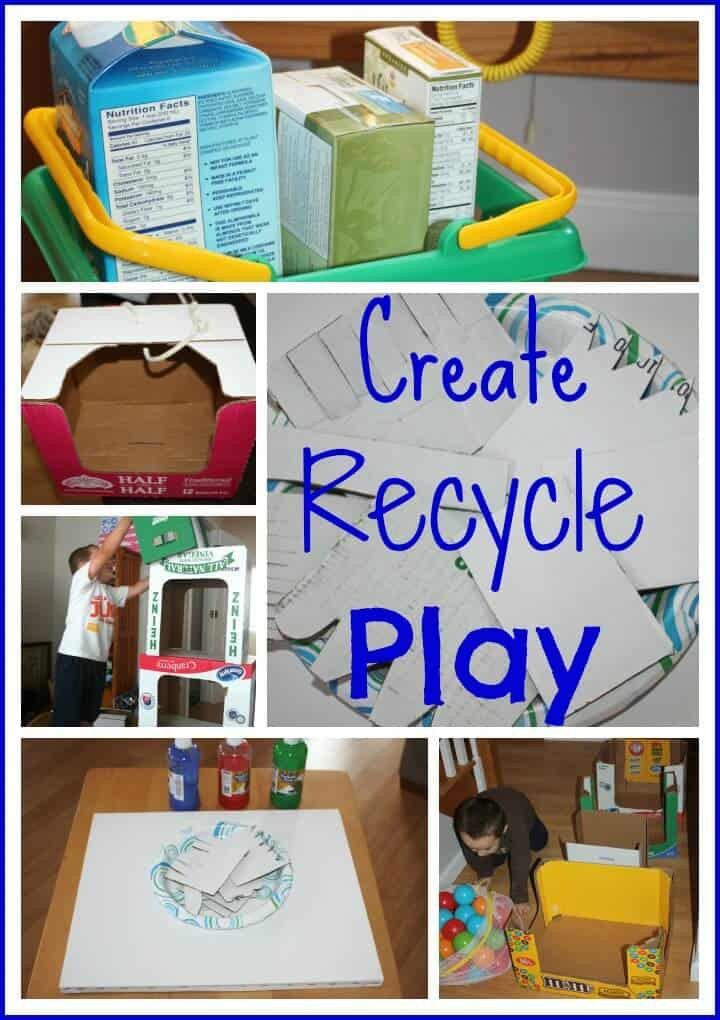Recycled Cardboard Box Play Create {Project: Recycle ...
