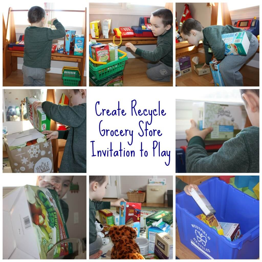 create recycle grocery play