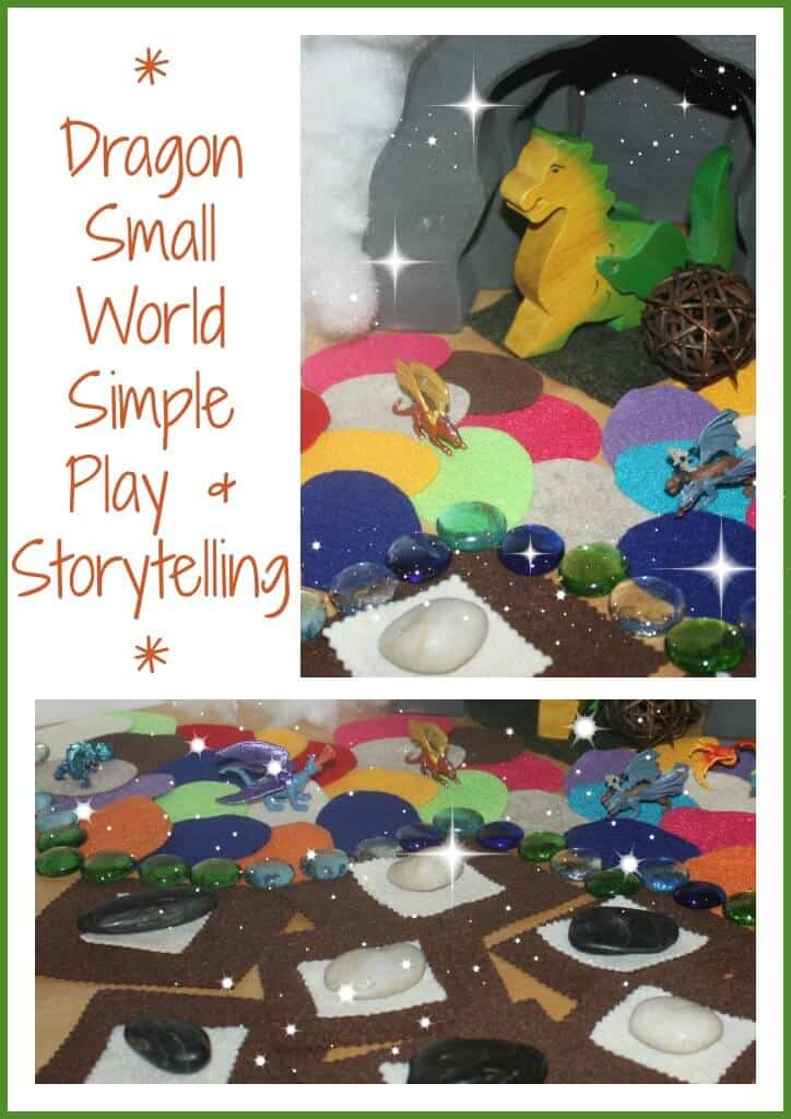 dragon small world simple play