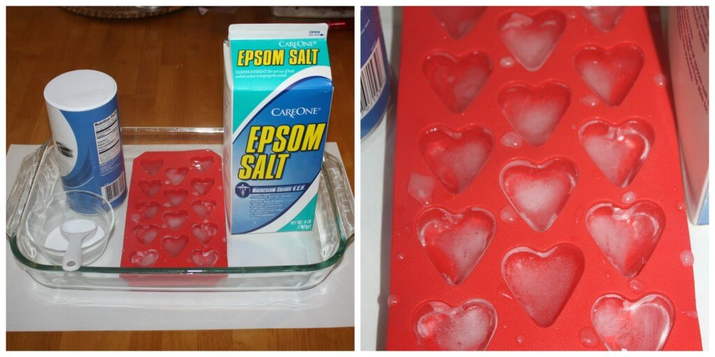 ice heart experiment set up