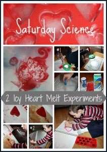 icy heart melt experiments activity
