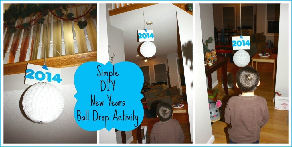 new year ball drop activity