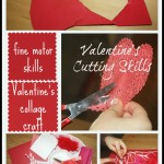 valentine cutting skills activity