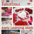valentines early learning math activities