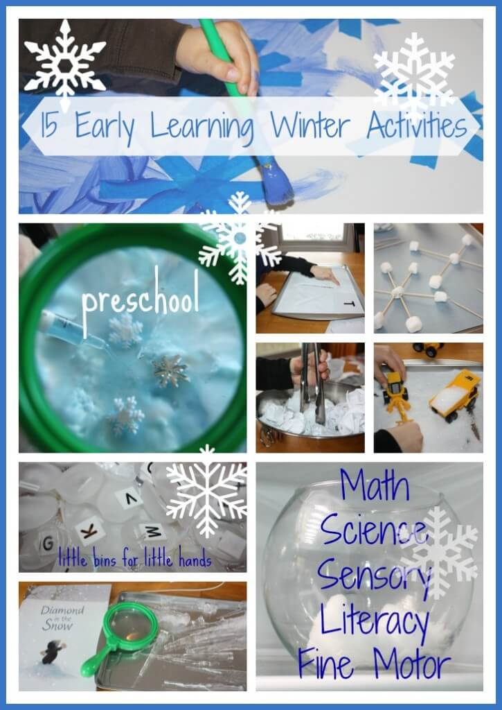 15 Winter Early Learning Activities