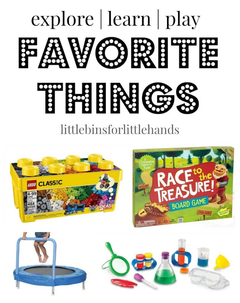 Favorite Products Science Gross Motor Books Play Time