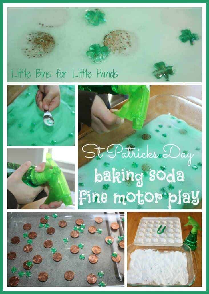 Magic Leprechaun St Patricks Day Baking Soda Science