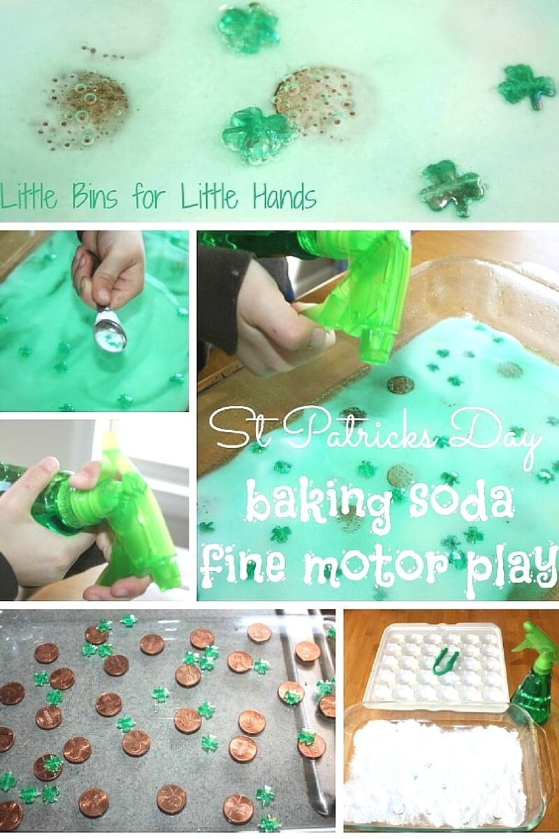 St Patricks Day Science Activity And Fine Motor Play
