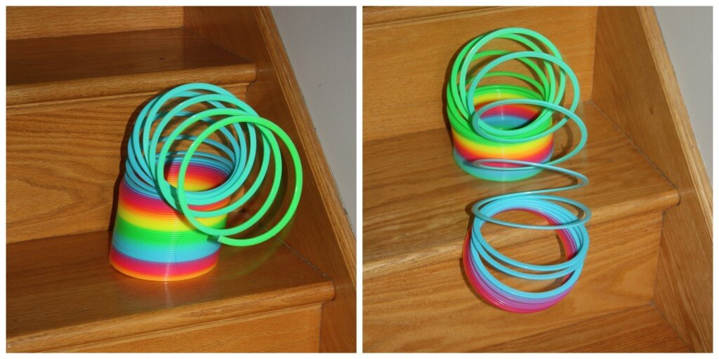 gravity science experiment big slinky