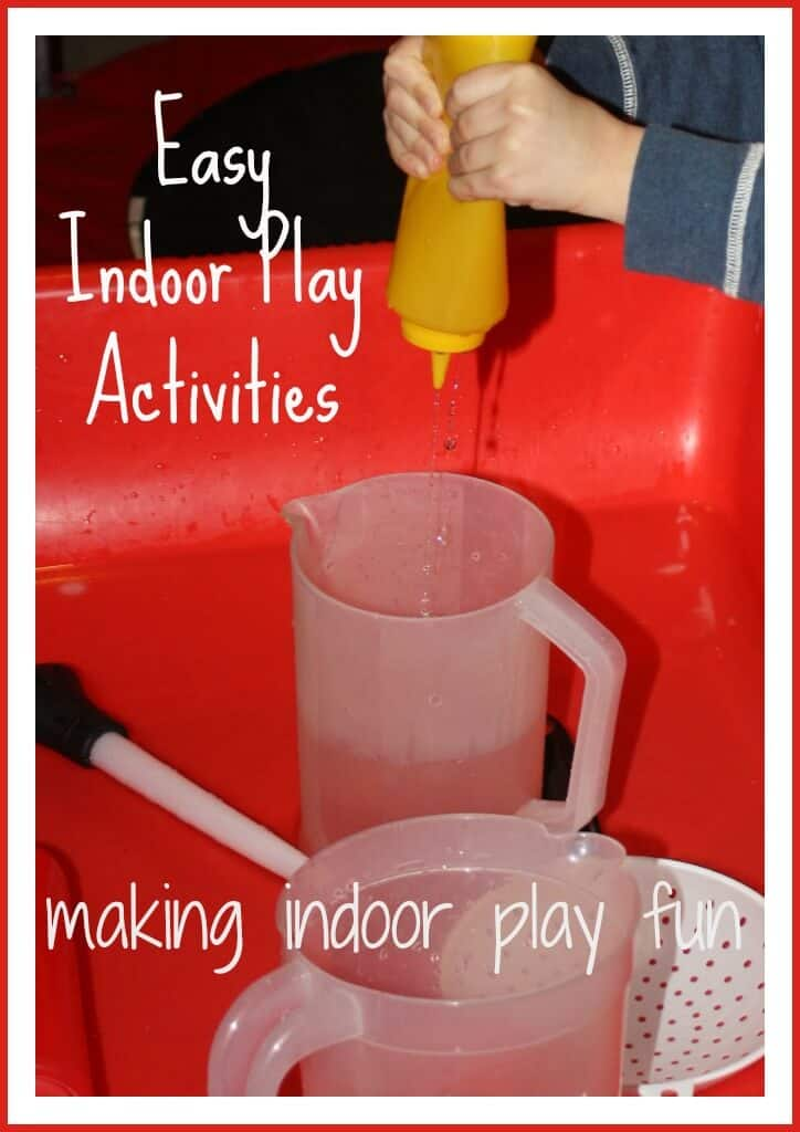 Indoor play ideas for another snow day little bins for for Indoor play activities