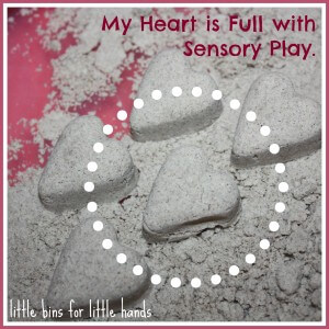 my heart is full with sensory play