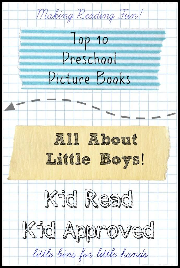 preschool books about little boys