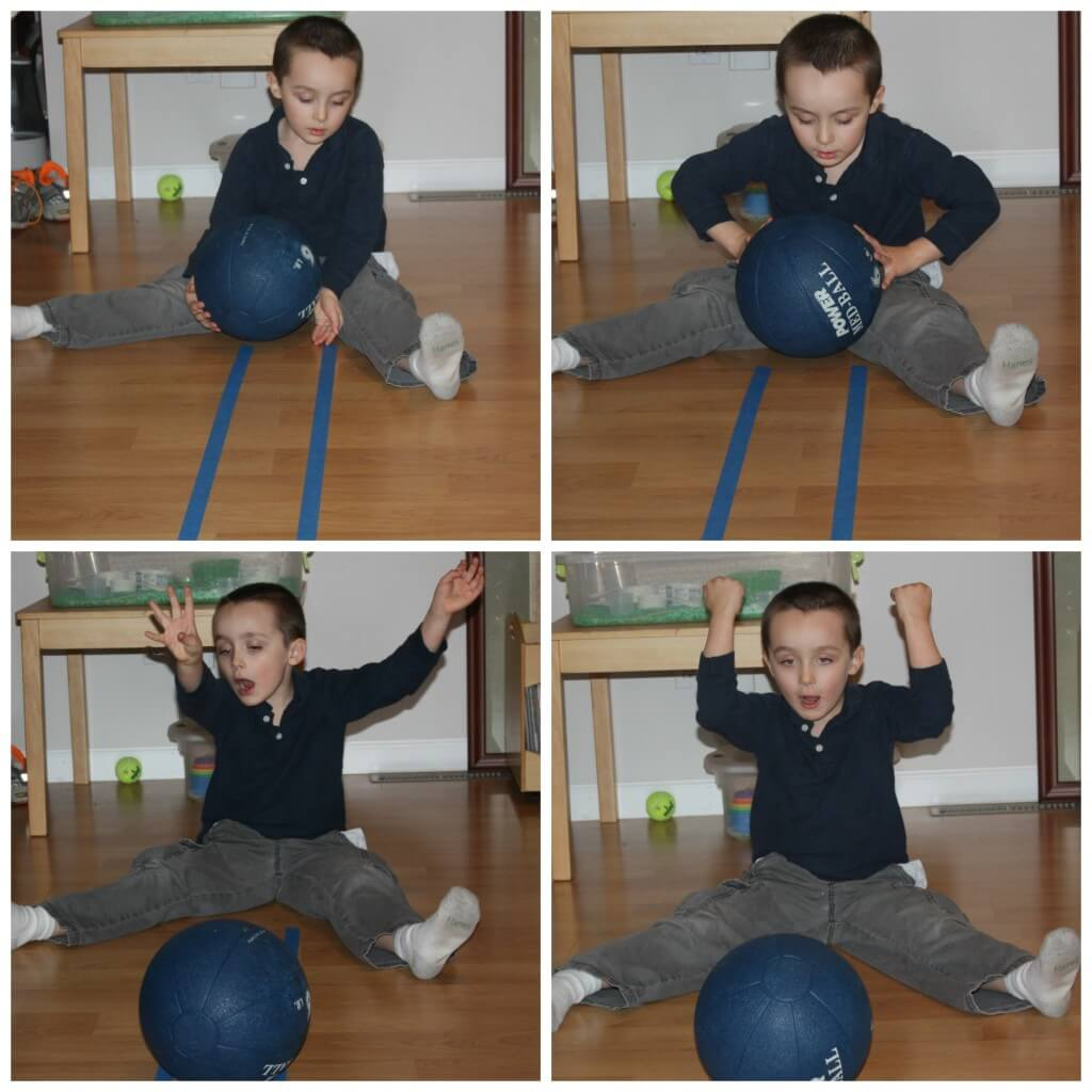 proprioceptive ball rolling
