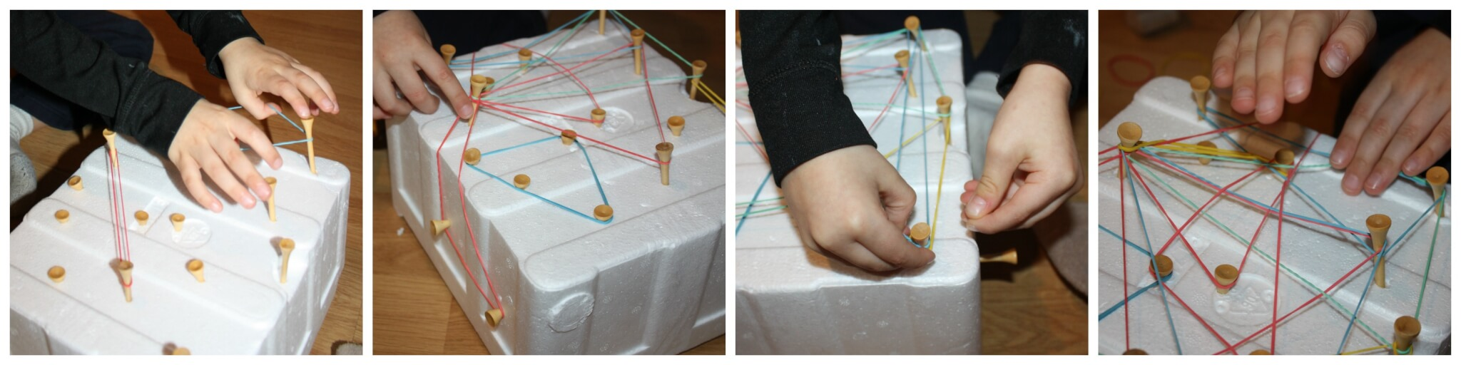 Easy Styrofoam Activities Fine Motor Amp Science Project