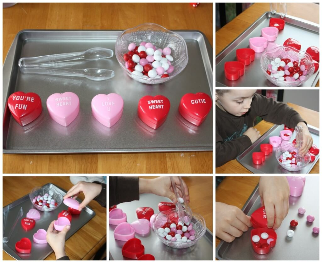 sweet treat candy container filling
