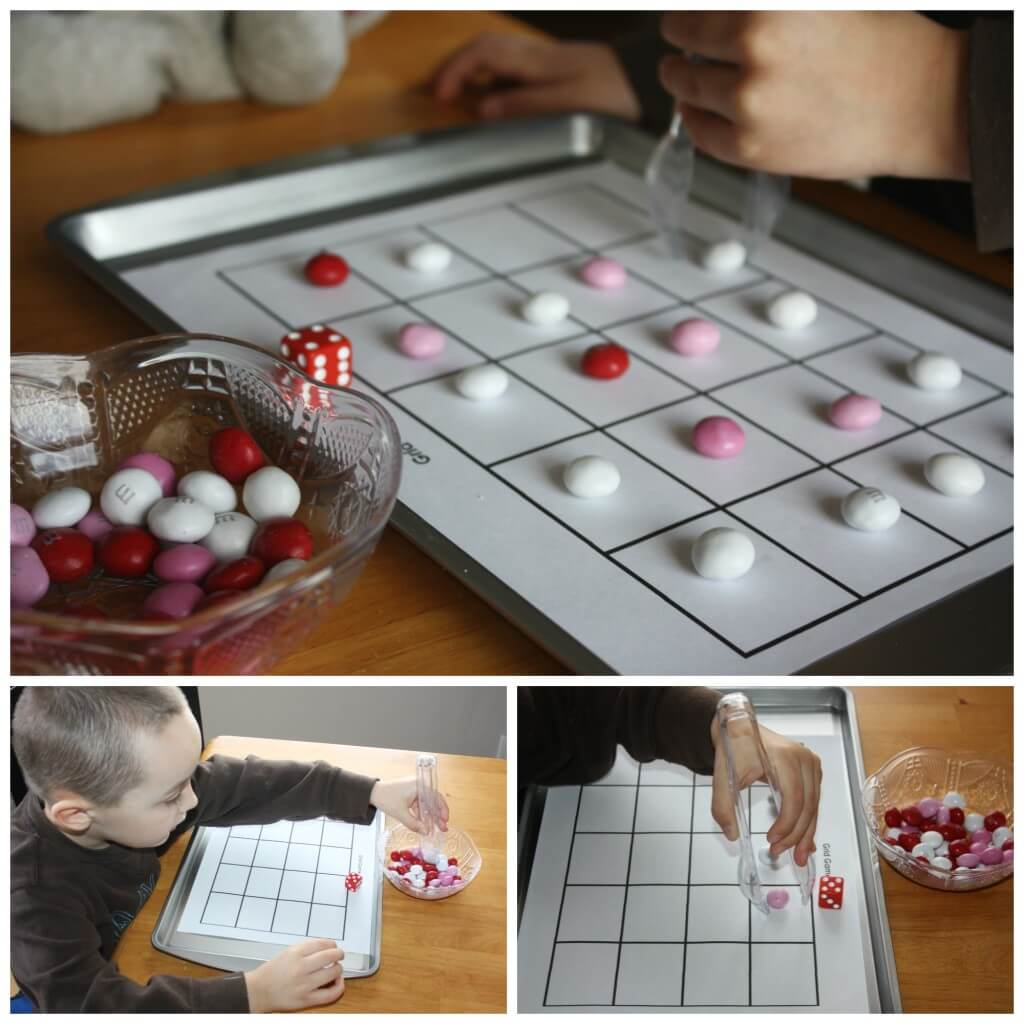 sweet treat candy grid game