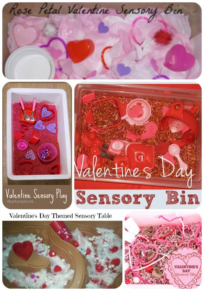 valentine sensory bin filler 1