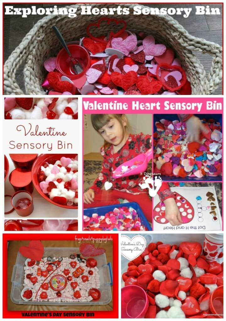 valentine sensory bin filler 2 collage