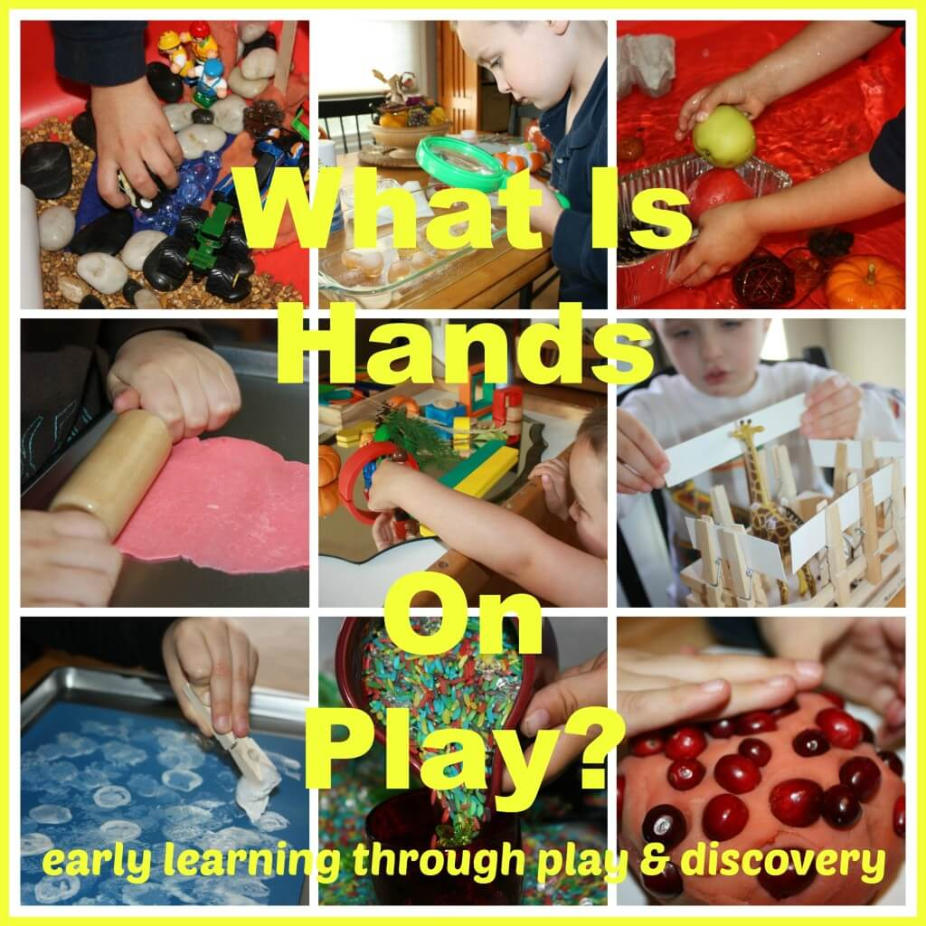 what is hands on play