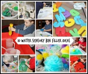 10 Water Sensory Bin Fillers