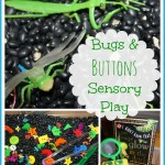 Bugs & Buttons Sensory Bin