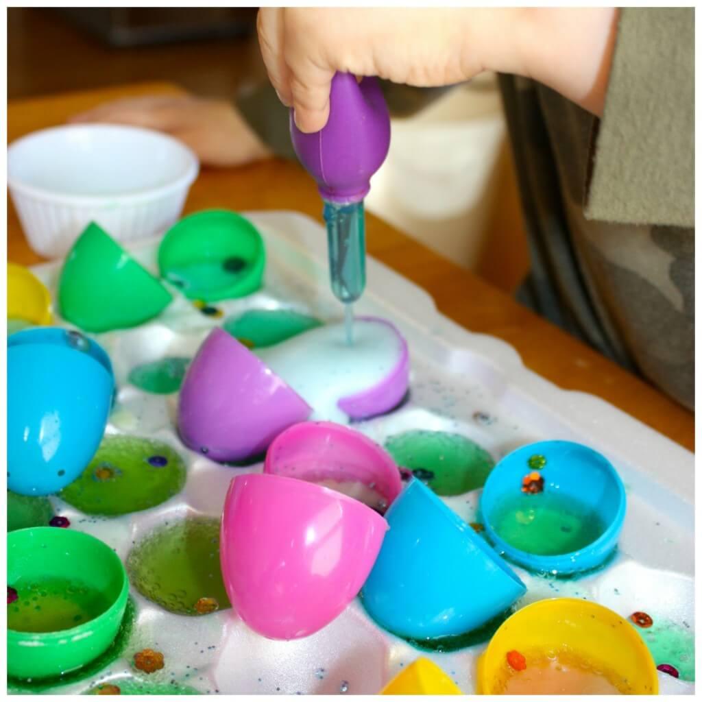 Easter Egg Baking Soda Science 3