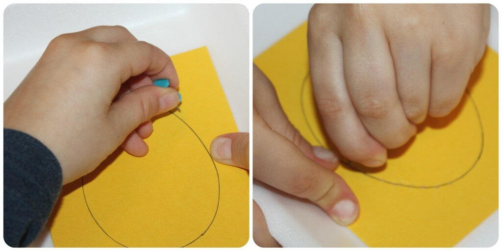 Easter Egg Fine Motor Activities Punching Egg