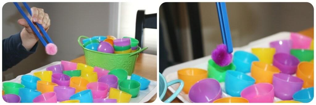 Easter Egg Fine Motor Skills 1