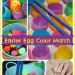 Easter Egg Fine Motor Skills & Color matching Activity