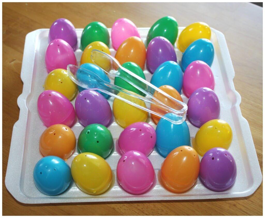 Easter Egg Game Set Up