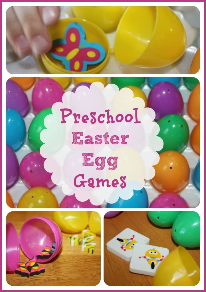 Easter Egg Games Activity