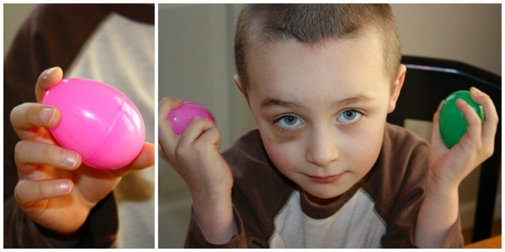 Easter Egg Listening Game Shaking Eggs